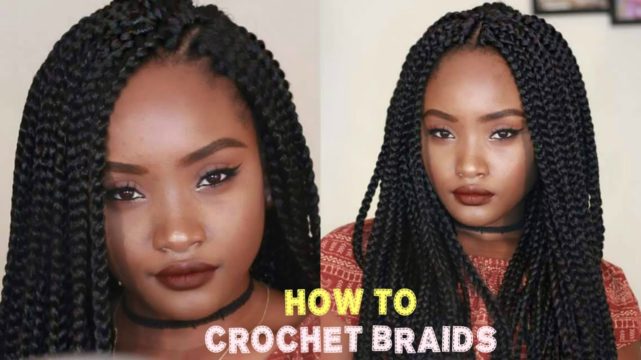 QUICK CROCHET BOX BRAID TUTORIAL || FREETRESS BOX BRAIDS ...