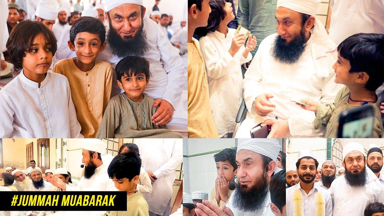 Molana Tariq Jamil led Jummuah Salah followed by sunnah of nikkah | Latest Video | 30 July 2021