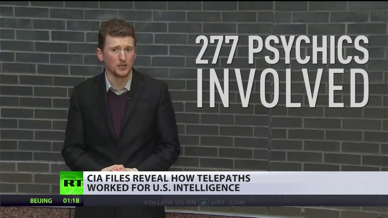 'Grill Flame' CIA files reveal how telepaths worked for US intel