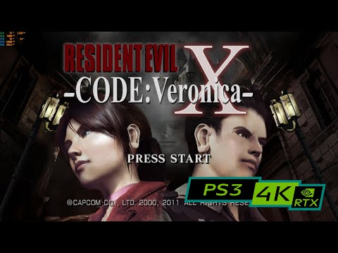 Resident Evil Code Veronica X / 4K PS3 Emulator RPCS3 / RTX 2080ti