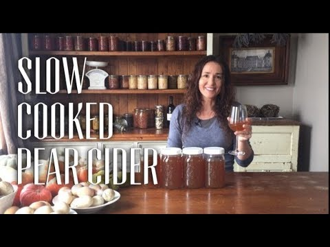 How to make Slow Cooked Pear Cider