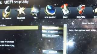 Настройка BIOS   под установку Windows на материнскую плату от ASRok UEFI