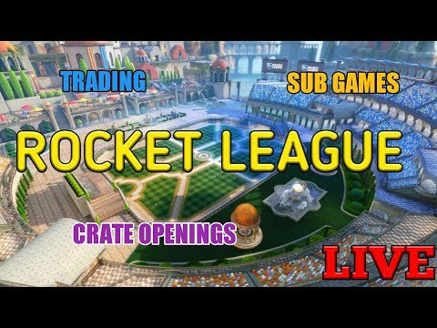 ROCKET LEAGUE LIVE (PS4) - TRADING - SUB GAMES - ROAD TO 3K - SPONSOR GOAL 2/5
