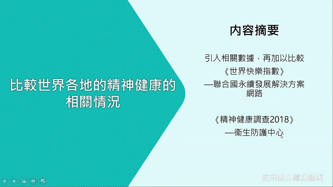 LS Group Projest--香港人的精神健康問題 - YouTube