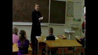 Відеоурок навчання грамоти
