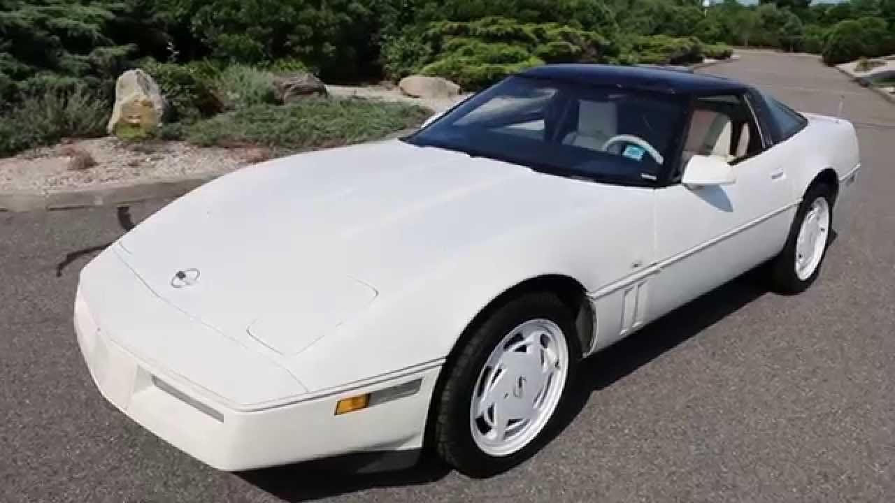1988 used chevrolet corvette 35th anniversary at webe autos serving long island ny iid 12366588