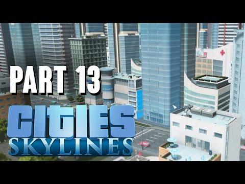 Cities Skylines Gameplay Walkthrough Part 13 - LACK OF CUSTOMERS