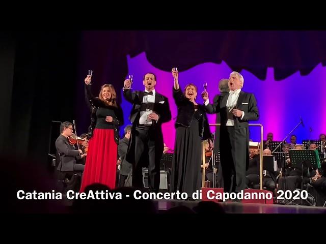 Concerto di Capodanno 2020 a Catania - Compagnia Lirica Siciliana