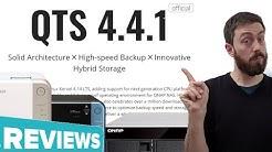 QNAP QTS 4.4.1 NAS Software Review