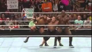 WWE John Cena Dances With Prime Time Players