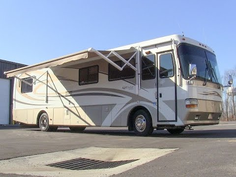 2000 Monaco Windsor 38SLD class A diesel pusher motorhome walk-through tutorial