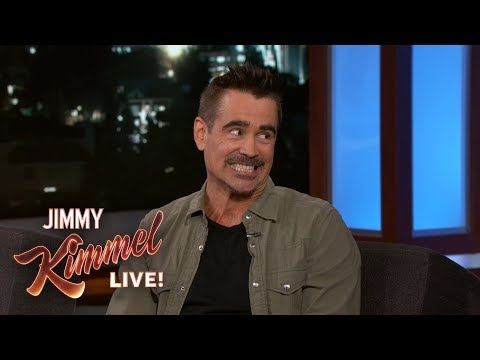 Colin Farrell & Jimmy Kimmel Reveal Childhood Crushes