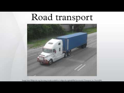Road transport