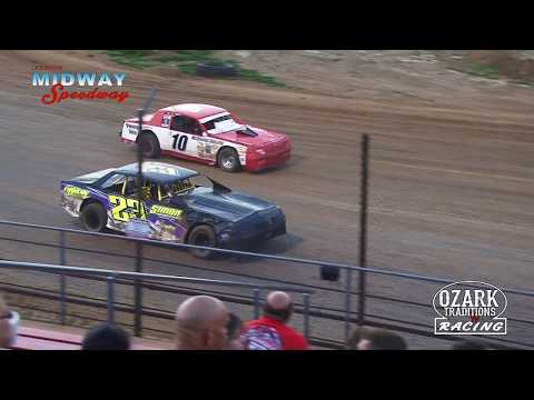 LEBANON MIDWAY SPEEDWAY - BOMBERS MAKE UP RACE - 7 -7 -18