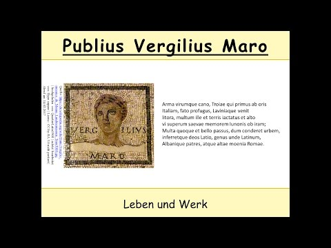 Vergil - Biografie und Werk 1/2 (Latein | Publius Vergilius Maro | Aeneis)