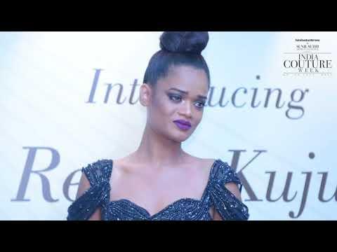 Rihanna Lookalike Model Renee Kujur Introduced At India Couture Week 2018