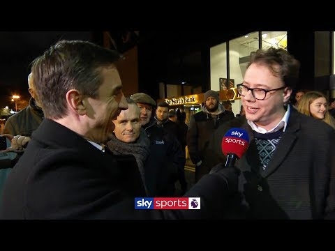 Is this the best Liverpool team ever?!   Gary Neville interviews Liverpool fans