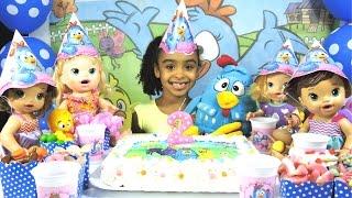 Baixar 2 Anos de Canal Festa de Aniversario Galinha Pintadinha Surpresas Baby Alive
