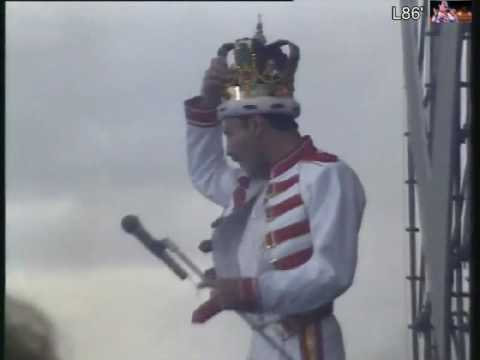 Queen Live At Slane Castle 86' - T.V Report - Snippet