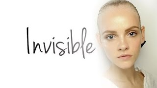 HOLLYWOOD SKIN: 100% INVISIBLE MAKEUP - FLAWLESS SKIN TUTORIAL!
