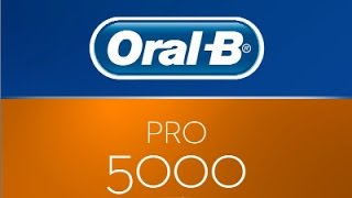 Oral-B Pro 5000 electric toothbrush