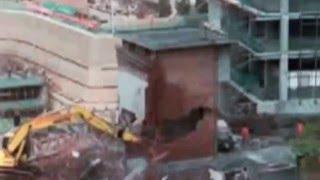 Excavator fail compilation. Heavy equipment accident.