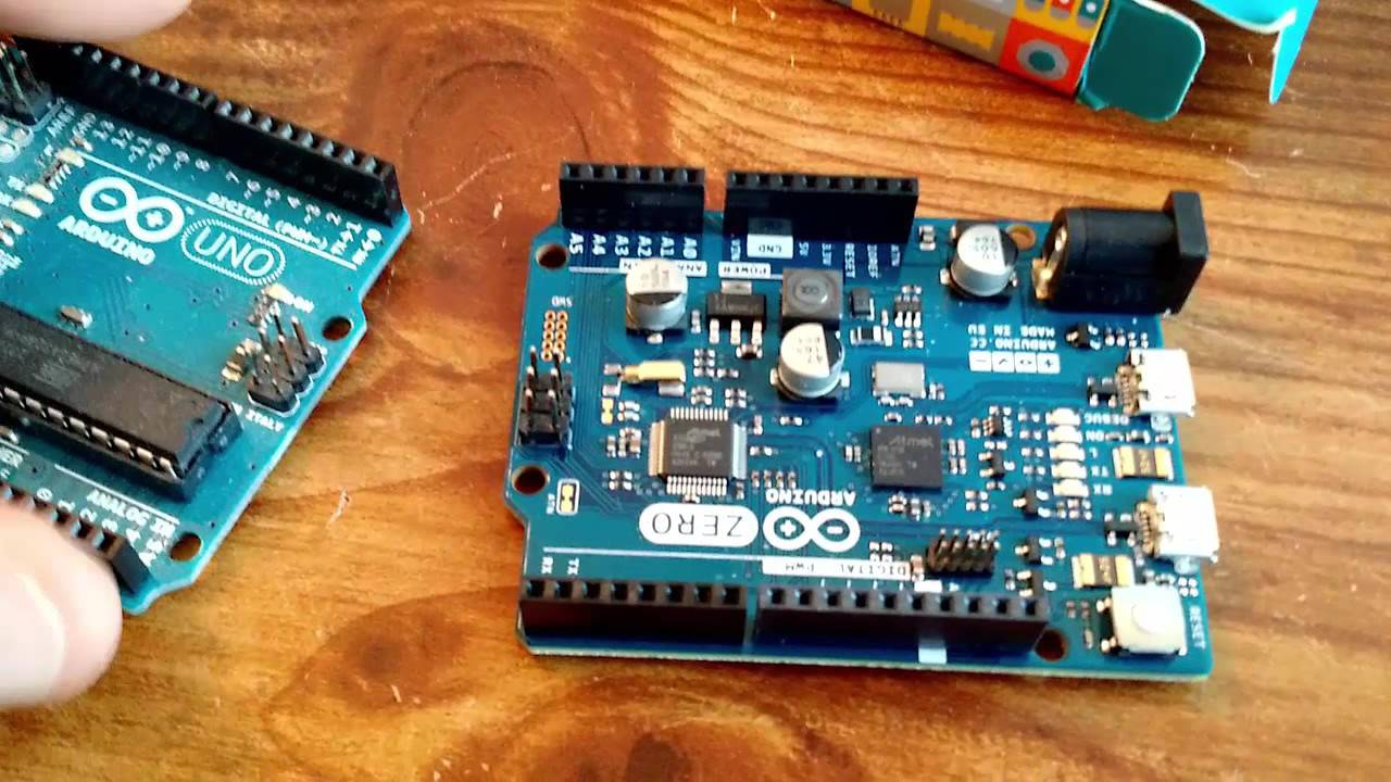 Unboxing the arduino zero youtube