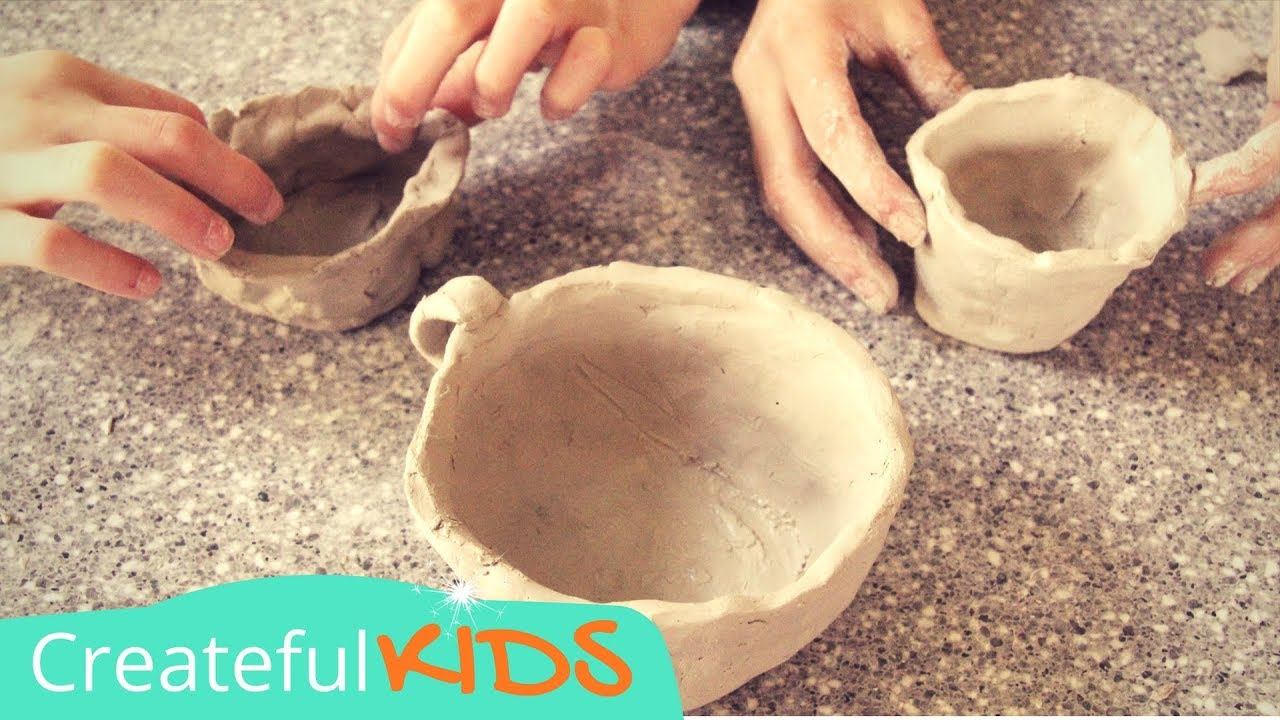 Wonderful How To Make Pottery | Kids Pottery Term Lesson