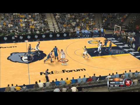 NBA 2K12: New York Knicks Vs. Memphis Grizzlies Online Ranked Match Gameplay HD HQ