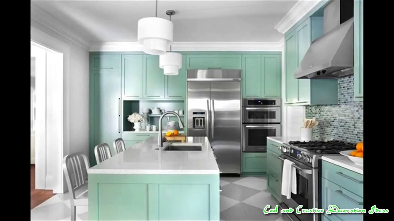 Paint Colors Small Kitchens - YouTube