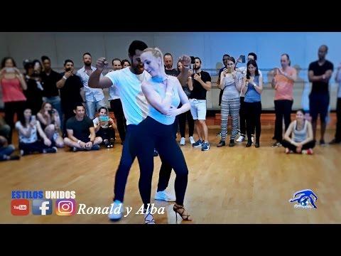 Ronald y Alba  Estilos Unidos ➤ Lyon Bachata Festival 2017 Workshop ➤ Antony Santos   Por Mi Timidez