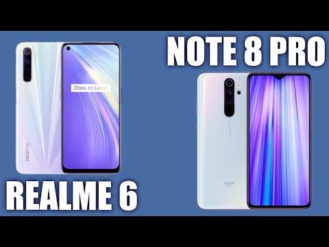 Realme 6 Vs Xiaomi Redmi Note 8 Pro. Сравниваем!