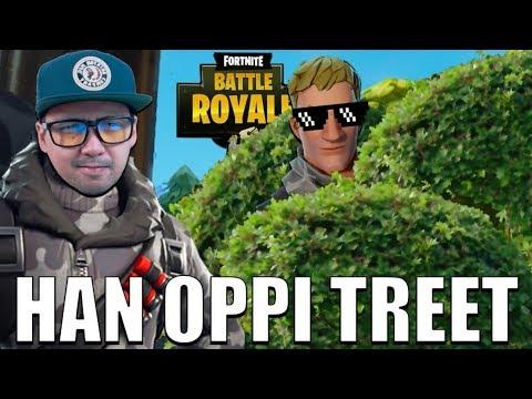 HVA GJØR HAN OPPI TREET!?🌲 | Norsk Fortnite