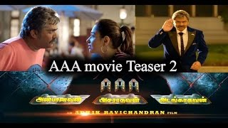 ✅AAAmovie Teaser 2|Ashwin Thatha Preview Teaser| AAA movie update| STR|Tamannaah|Yuvan ShankarRaja