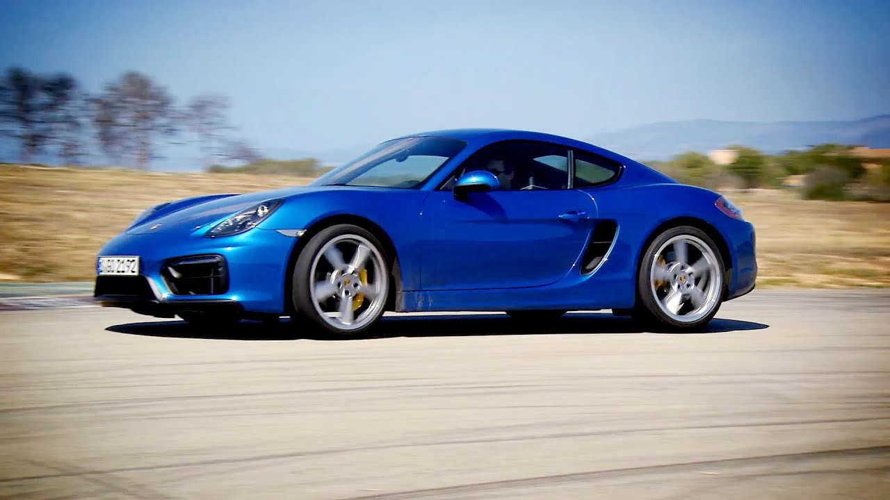 First drive 2015 porsche cayman gts on racetrack good exhaust sound youtube