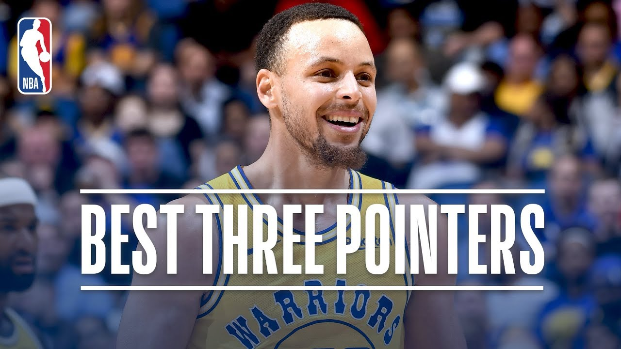 615063da5582 Stephen Curry s Best Three Pointers! 2018-19 NBA Season + Playoffs ...