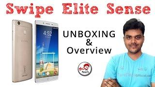 Swipe Elite Sense Unboxing & Overview | முதல் கண்ணோட்டம் | Tamil Tech