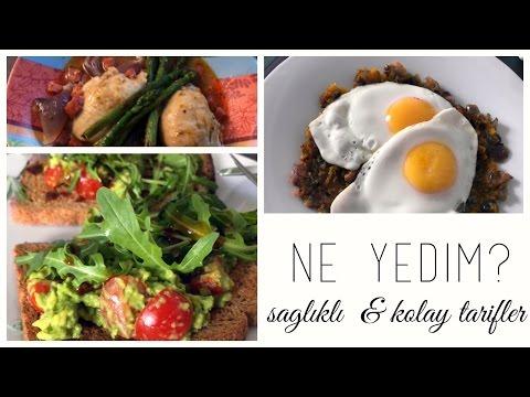 Bir Günde Ne Yiyorum - Sağlıklı & Kolay Tarifler |Melisa Beleli