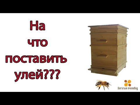 Богатый пчеловод НА ЧТО ПОСТАВИТЬ УЛЕЙ