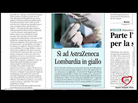 I giornali in edicola - la rassegna stampa 30/01/2021