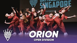 Orion (2nd Place) | Open Division | WSB Singapore 2019