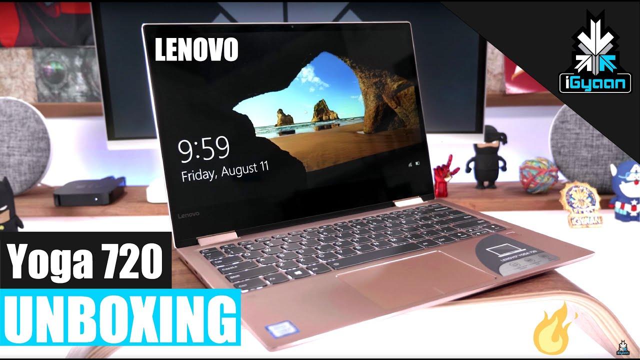 Lenovo Yoga 720 13 Inch Convertible Unboxing Youtube