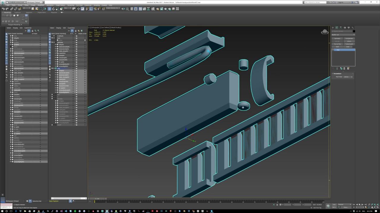 3dsmax - Substance Painter - Object Builder workflow