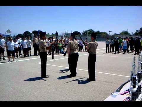 West High Bakersfield Ca Rotc Armed Drill Youtube