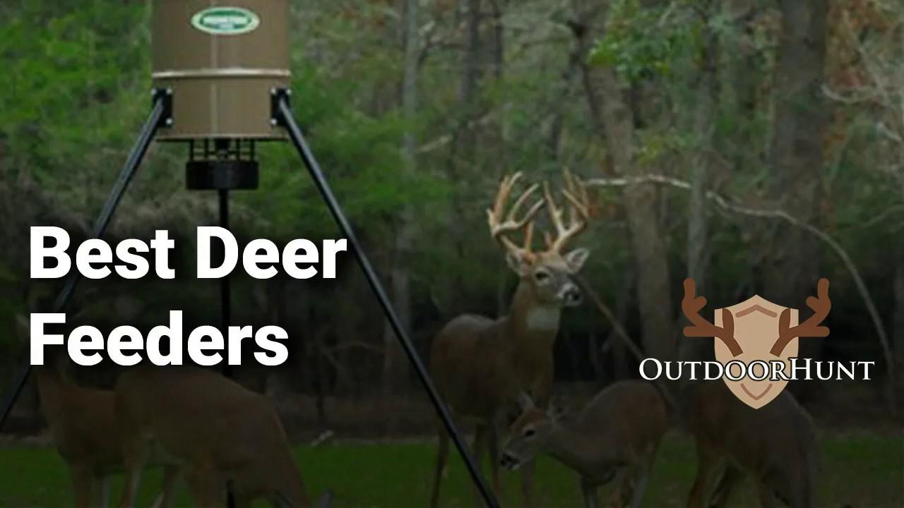 Best Deer Feeders of 2019 - Reviews & Buyer's Guide