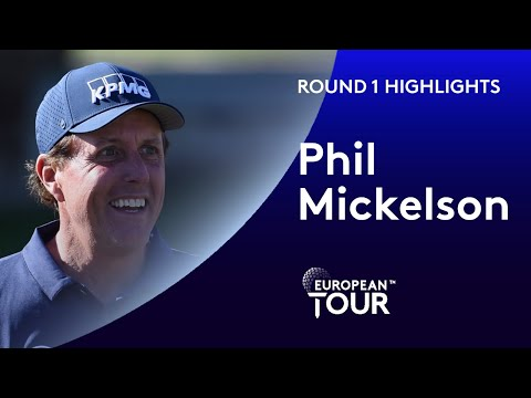 Phil Mickelson makes 9 birdies during opening 66 | 2020 Saudi International