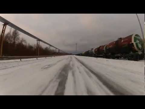 Town of Maardu and Port of Muuga (15.01.2012) [HD]