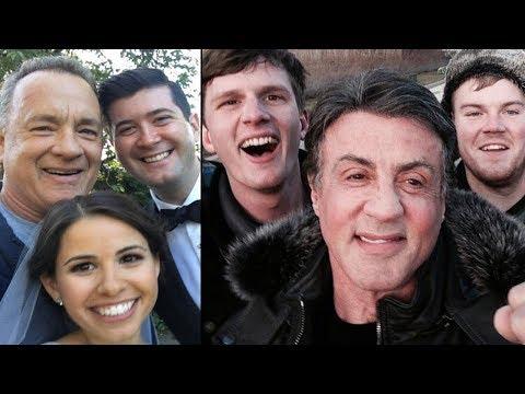 celebridades que apareceram de SURPRESA em fotos de pessoas