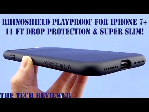 RhinoShield PlayProof for iPhone 7 Plus: 11 ft Drop Protection and Incredibly Thin!