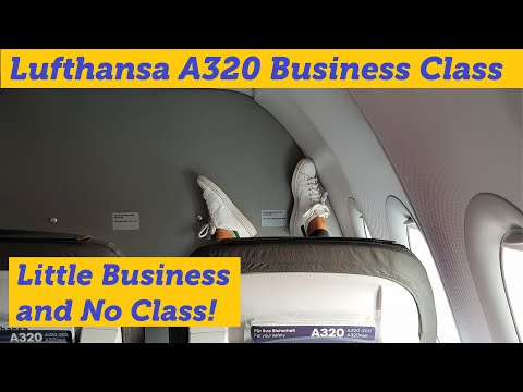 Lufthansa A320 - The Business That's Not Business